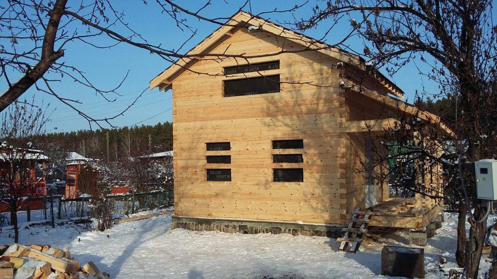 Дом 6*6 из профилированного бруса
